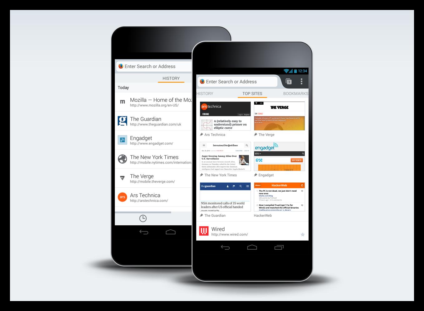 Картинка Firefox для Android
