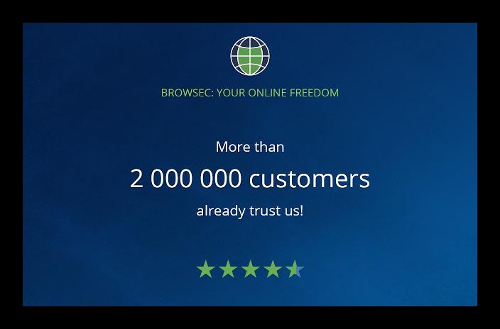 Картинка Расширение Browsec для Firefox
