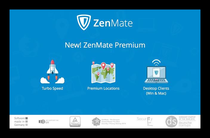 Картинка ZenMate для Firefox