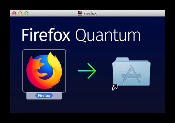 Установить Firefox на Mac