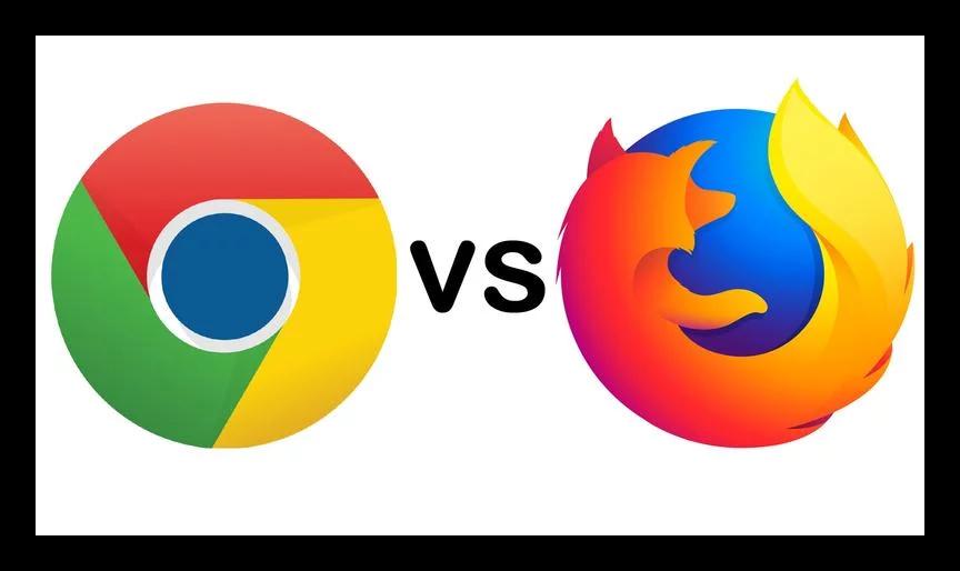 Изображение Сравнение Firefox и Chrome