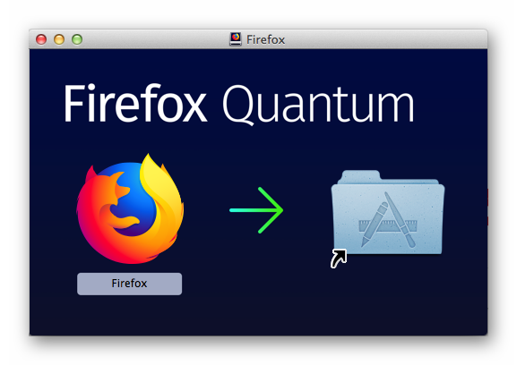 Установить Firefox ESR для Mac OS