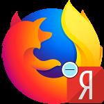 Как убрать Yandex из Firefox