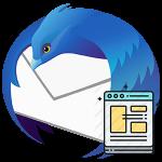 Создание шаблона письма в Thunderbird